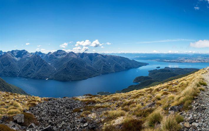 Descargar fondos de pantalla Montañas apalaches, lago, Canadá, América del Norte, estados UNIDOS