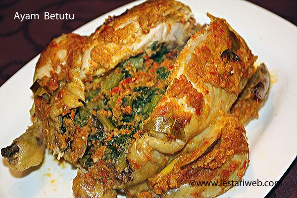 102 best authentic indonesian recipes images on pinterest ayam betutu balinese roast chicken there is a translate to english flagbutton forumfinder Choice Image