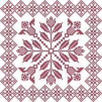 Cross Stitch Quilt Blocks - Addicted To Stitches | OregonPatchWorks