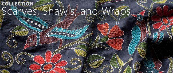 International Folk Art Alliance... Scarves, Shawl, and Wraps