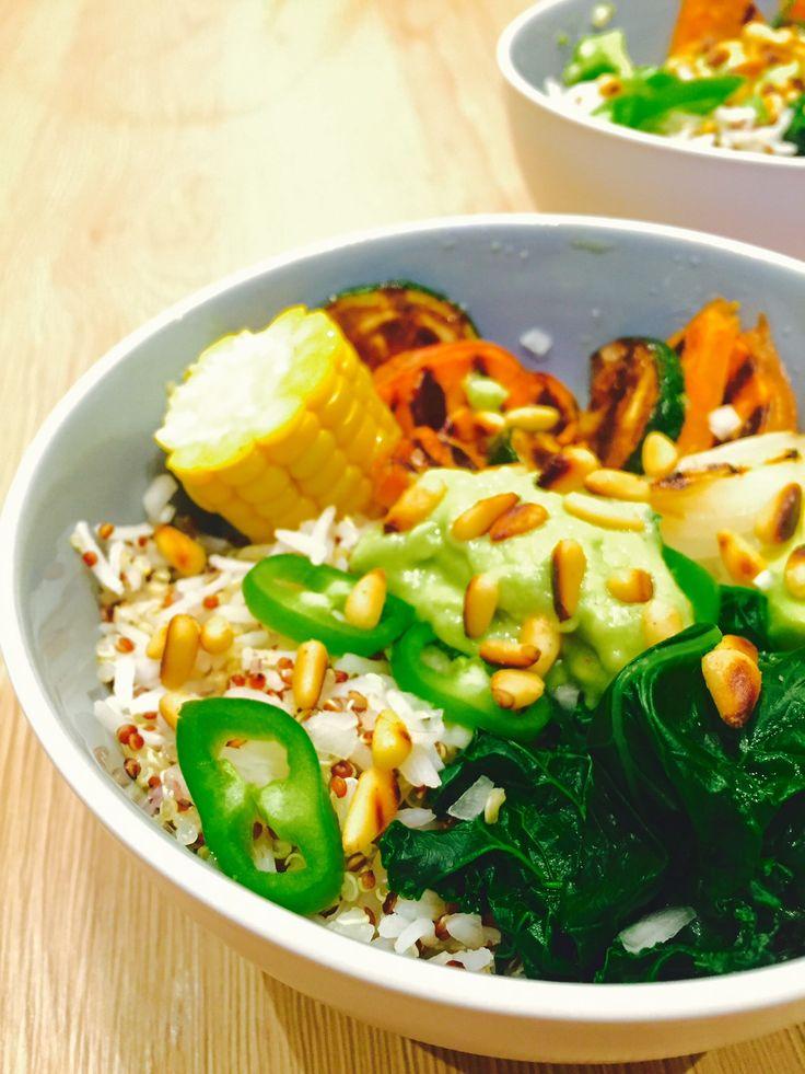 Veggie Bowl, la nouvelle tendance qui fait fureur ! C'est la rentrée et vous voulez manger un repas gourmand et équilibré sans prise de tête ? Optez pour le Veggie Bowl ! Simple et rapide, cette assiette « healthy » est faite pour vous !