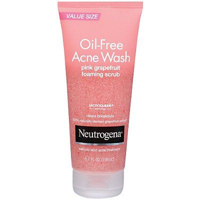 Neutrogena's Oil-Free Pink Grapefruit Acne Wash is one of the best facial washes for acne. Unlike other facial washes that simply smell pleasing, Neutrogena's acne wash actually clears breakouts fast. For a full review, visit the link in the descritption. #neutrogena #acne #facialwash #skin #beauty