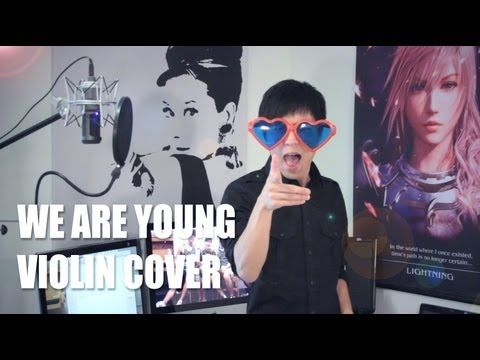 ▶ FUN - We Are Young - Jun Sung Ahn Violin Cover - YouTube