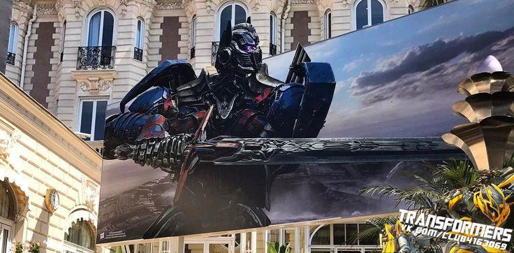 Transformers: The Last Rycerz Transparenty Z Optimus Prime i Bumblebee w Cannes - Transformers News - TFW2005