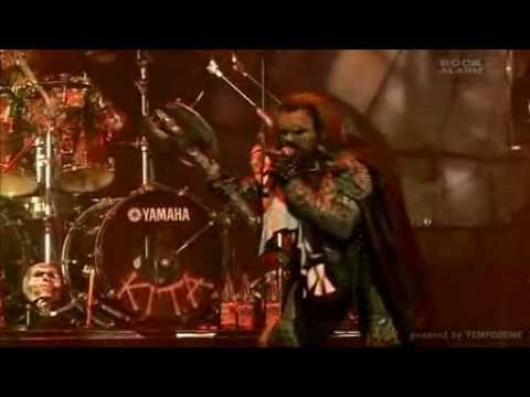Lordi - Hard rock hallelujah (Live Wacken 2008)