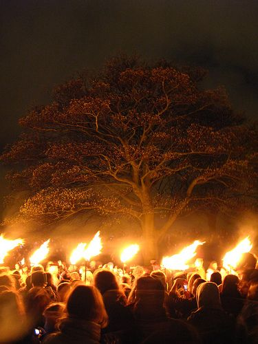 The annual Beltane Fire Festival in Edinburgh is a truly unique experience.