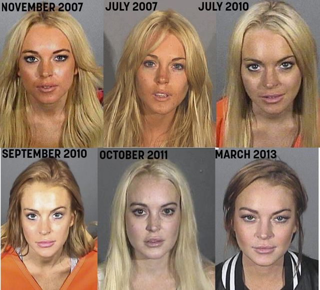 Lindsay Lohan grouped with date