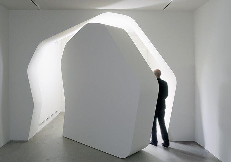 J. Mayer H. POSITIVE.NEGATIVE - Umbau des Galerieraums, Kicken Gallery, Berlin