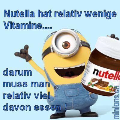 Nutella hat relativ wenige Vitamine...