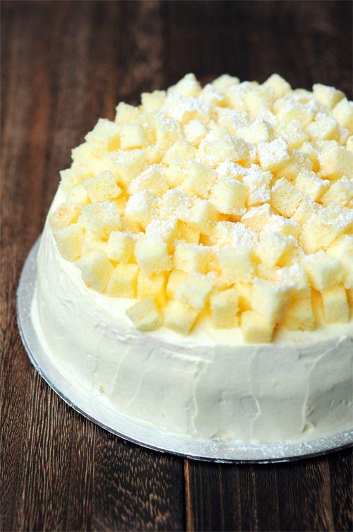 Triple Layer Durian Cake