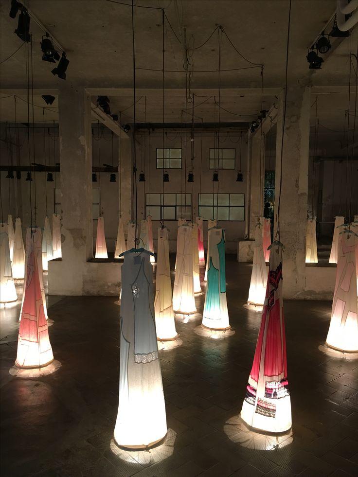 Spazio Marras installazione luminosa