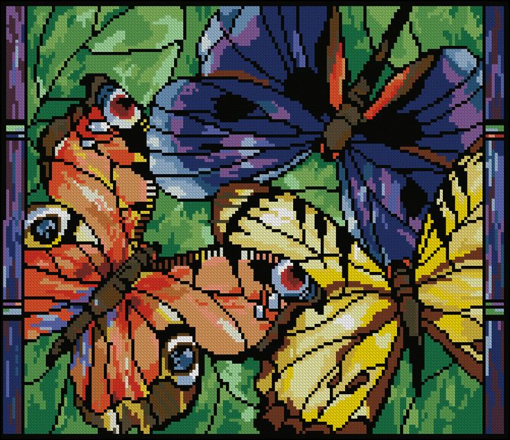 Stained Glass Beauties