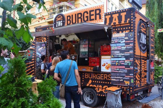 Zing Burger – Burger truck! Simply one of the best things in Budapest.