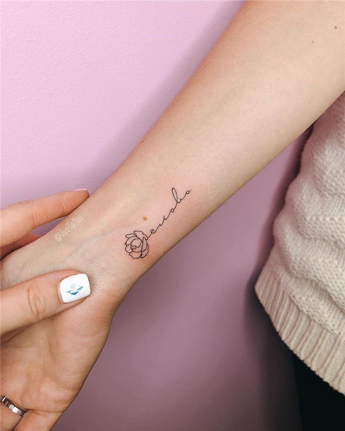 70 Simple Arm Small Tattoos Designs And Ideas For 2019 Small Wrist Tattoos Pattern Tattoo Small Tattoos