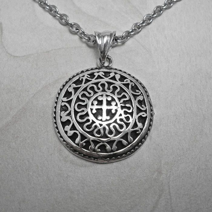 The latest addition to my #etsy shop: Silver necklace,mens cross pendant,mens necklace,mens pendant,Silver mens pendant,byzantine necklace,cross shield pendant,byzantine pendant http://etsy.me/2AzfR2X #jewelry #necklace #silver #women #black #religious #circle #c