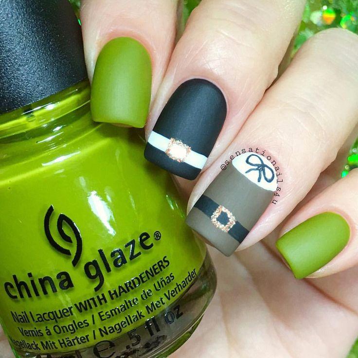 Mejores 769 imágenes de Nails: Art & Designs en Pinterest | Arte de ...