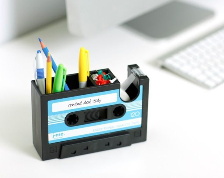 AmazonSmile : Popular Creative adhesive tape holder Pen holder Vase Pencil Pot Stationery Desk Tidy Container office stationery supplier Gift : Office Products