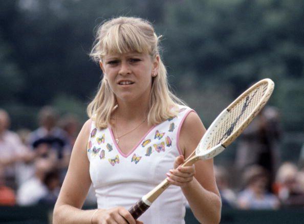 Sue Barker | Sue Barker of Great Britian during the Wimbledon Lawn Tennis... News ...