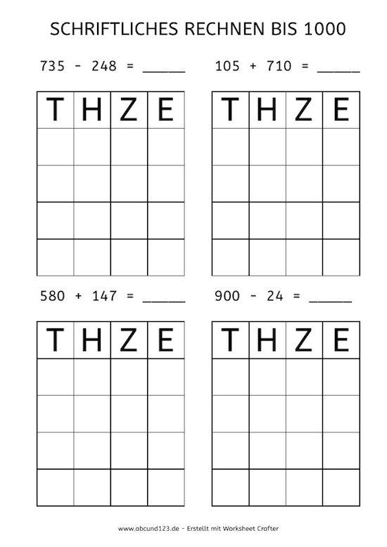 206 besten Mathe Bilder auf Pinterest | Grundschulen ...
