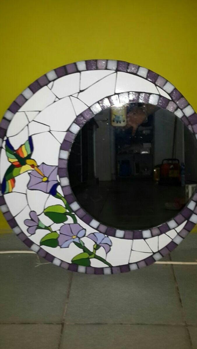 Las 25 mejores ideas sobre arte mosaicos en pinterest y for Mosaicos para espejos