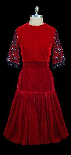 Dress Cristobal Balenciaga, 1950s The Frock - VINTAGE CLOTHES -  ANTIQUE CLOTHING - ROPA ANTIGUA - @JenniferManteca on Twitter