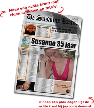 maakjeeigenkrant.nl - Krant maken