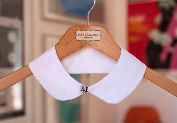 Hey, I found this really awesome Etsy listing at https://www.etsy.com/listing/245236248/white-cotton-peter-pan-collar-with