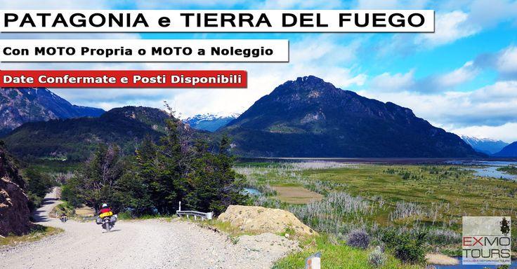 Moto Tour Patagonia  Cile, Argentina, Carretera Austral, Ruta 40, Perito Moreno, Torres del Paine, Ushuaia  Guida la tua motocicletta (invio di gruppo disponibile) fino al punto più a Sud del mondo o noleggia uno dei nostri modelli BMW-Gs.   http://www.exmotours.com