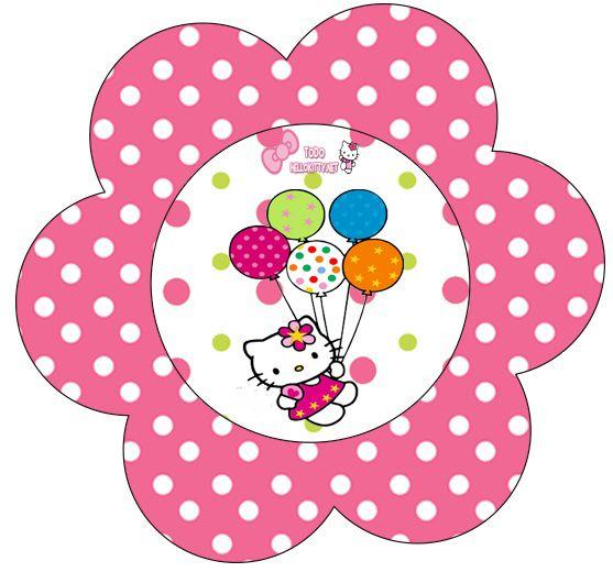 Imprimibles de Hello Kitty ambientación