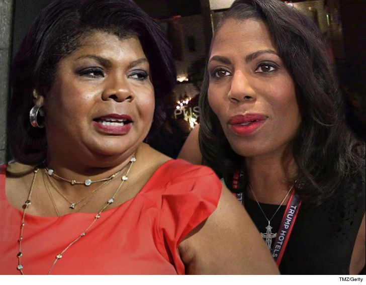 Omarosa denies stirring the pot at the NABJ ... but April Ryan's camp says differently.