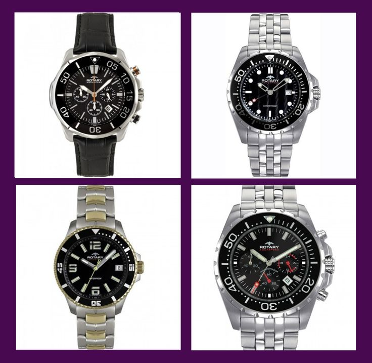 Who do you know could use a new watch? We make it easier with Rotary now 25% off http://www.schubachjewelers.com/designers-brands/rotary-watches.html