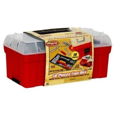 My First Craftsman Toy Toolbox with Plastic Tools | eBay