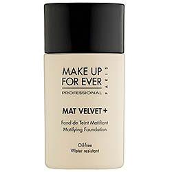Sephora: MAKE UP FOR EVER : Mat Velvet + Matifying Foundation : foundation-face-makeup  must try thanks britt!