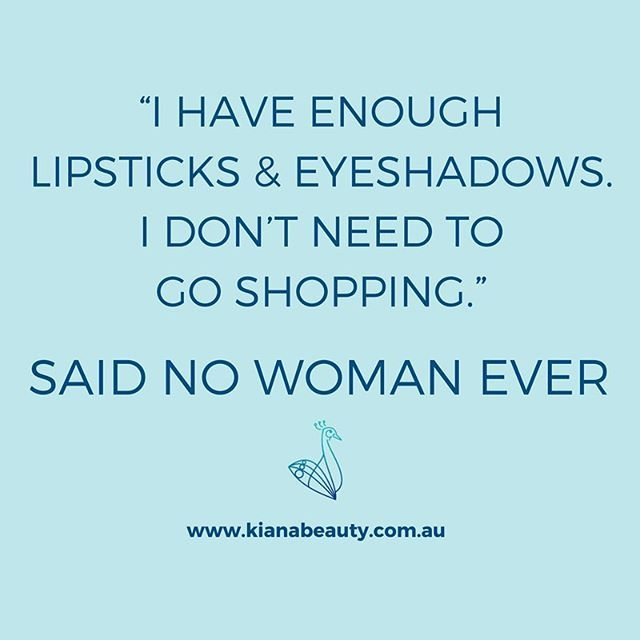 Hands up if you've got WAY too many lipsticks and eyeshadows, yet you still need more? Brands such as Chanel, Clinique, Estee Lauder and Elizabeth Arden available from Australian online stockist Kiana Beauty Melbourne, with free delivery over $50.