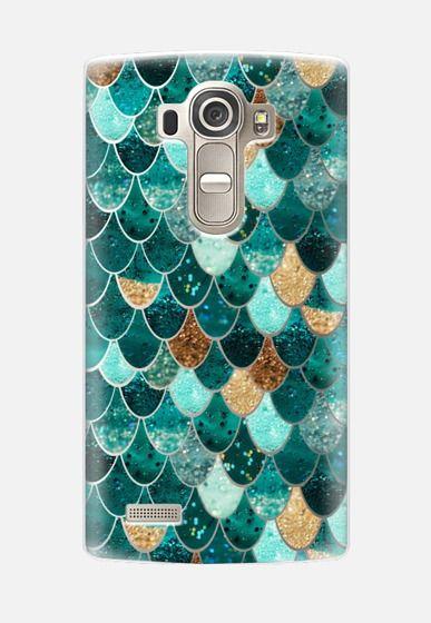REALLY MERMAID transparent iPhone 6 case LG G4 case by Monika Strigel | Casetify