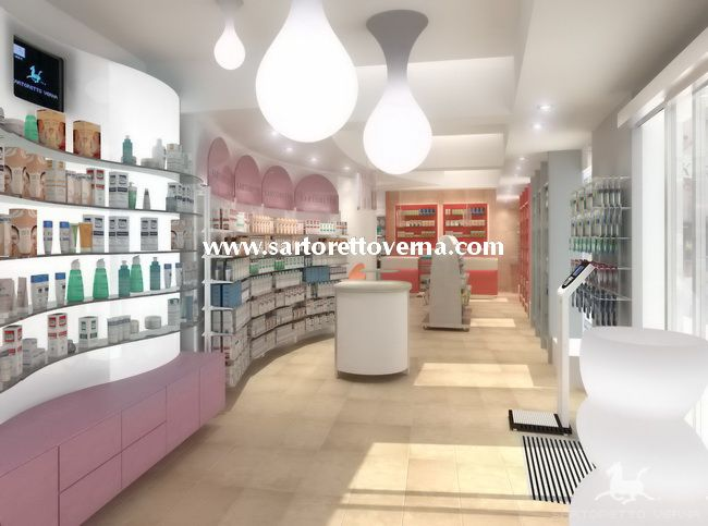 the first sartoretto verna pharmacy in malta is full of light and colour