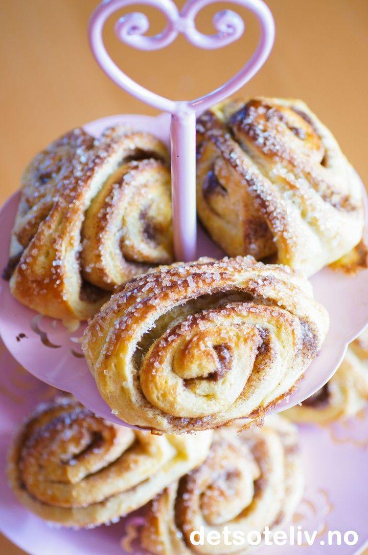 Korvapuusti Finske Kanelboller Kanelboller Dessert Ideer Mat