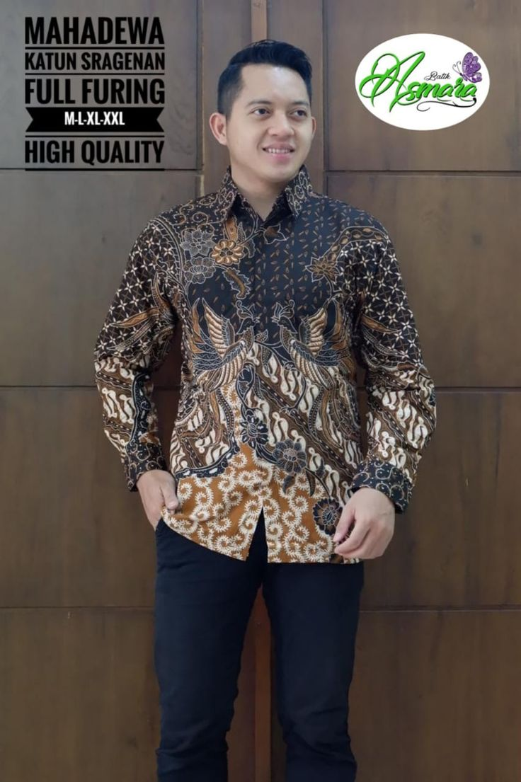Kemeja Batik Solo Maba Full Furing 081388851771 di 2020