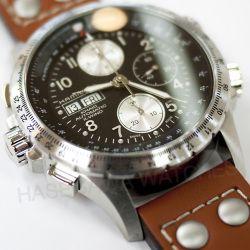 映画インディペンデンスデイ・リサージェンス劇中登場の時計 【リアムヘムズワース着用モデル】【国内正規品】ハミルトン『カーキX-WIND』オートクロノ(自動巻き)腕時計H77616533