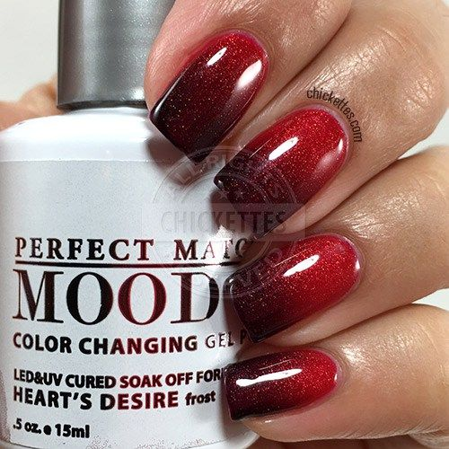 LeChat Perfect Match Mood Polish - Heart's Desire