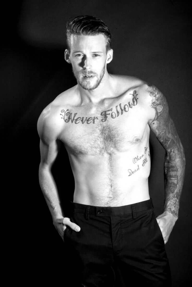 Dustin Kime Reveals His Many Tattoos For Inked Mag