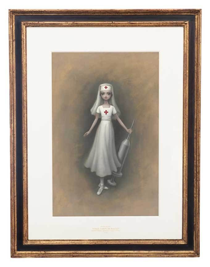 The iconic pop surrealist artist Mark Ryden designed the costumes and set for the American Ballet Theater's Whipped Cream. From an interview with Juxtapoz magazine about the ballet, Ryden stated th…
