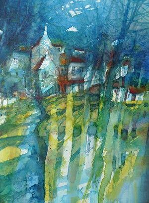 Eric Laurent #Aquarelle #Watercolor