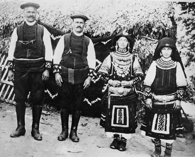 FolkCostume - Sarakatsani, Greek pastoral nomads