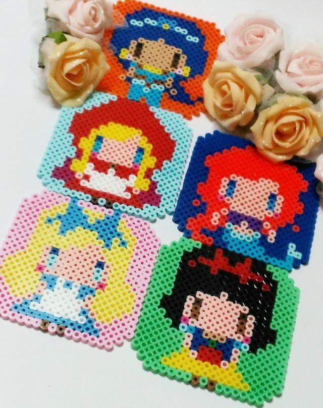 プリンセスコースター(5枚セット)