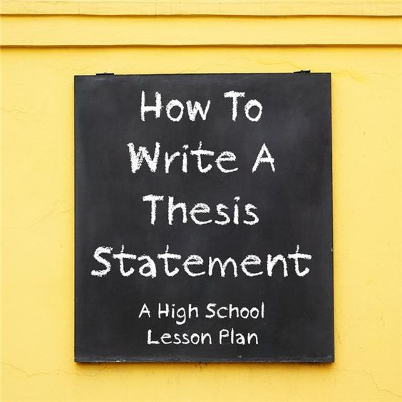 esl writing thesis statement