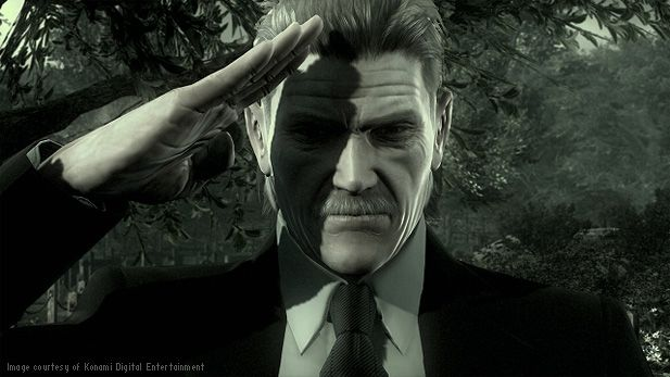 While I know Hideo Kojima is known for not being a man of his word, I honestly believe he's retiring Solid Snake once and for all. You will be missed, old friend. .. Courtesy of Konami.