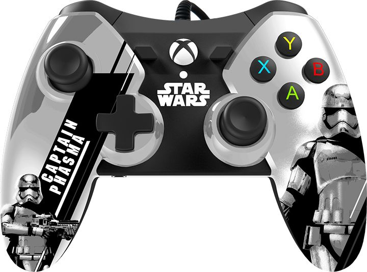 Xbox One Star Wars Episode VII Wired Controller - Captain Phasma GameStop Exclusive for Xbox One | GameStop