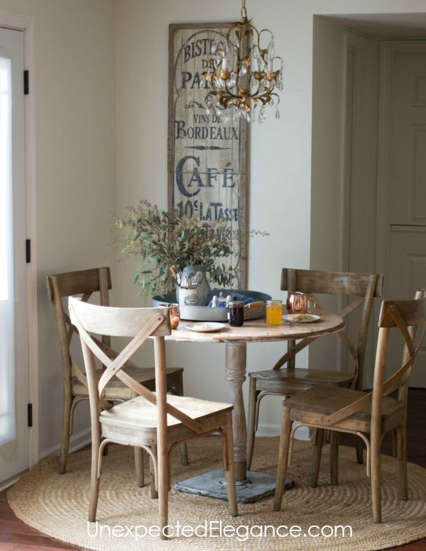 25 best ideas about french country dining table on for Kitchen dining room decor