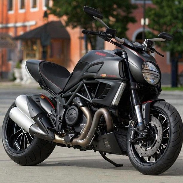 Ducati Diavel - I LOVED riding this one!  Incredible!